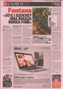 Gazzetta dello Sport - Fontana