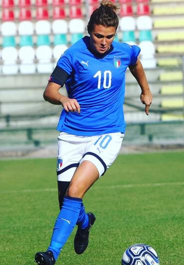 Cristiana Grielli: calciatrice professionale Juventus e Nazionale Italiana